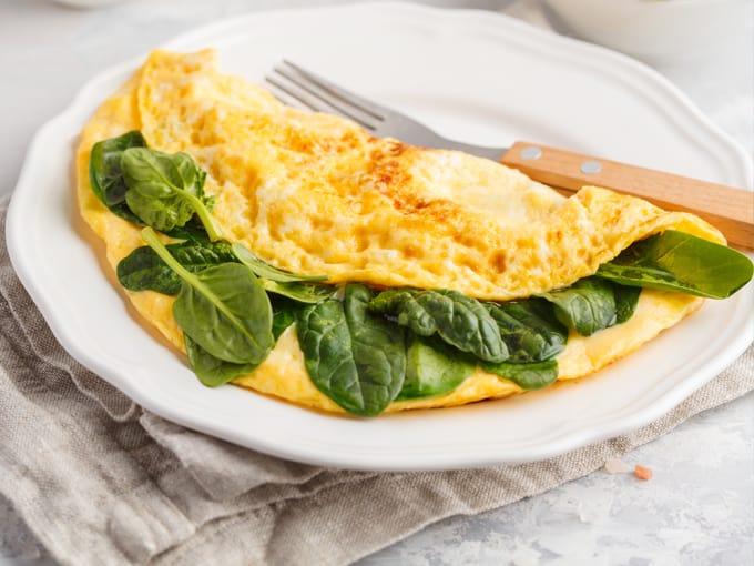 omelette-spinaci-colazione