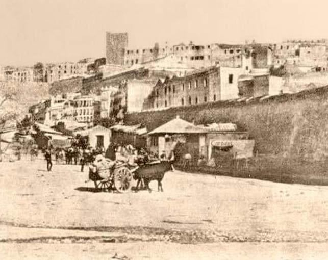 mercato vecchio del Largo Carlo Felice