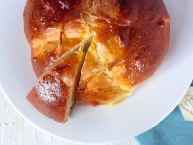 Pinza, focaccia dolce di pasqua del Friuli